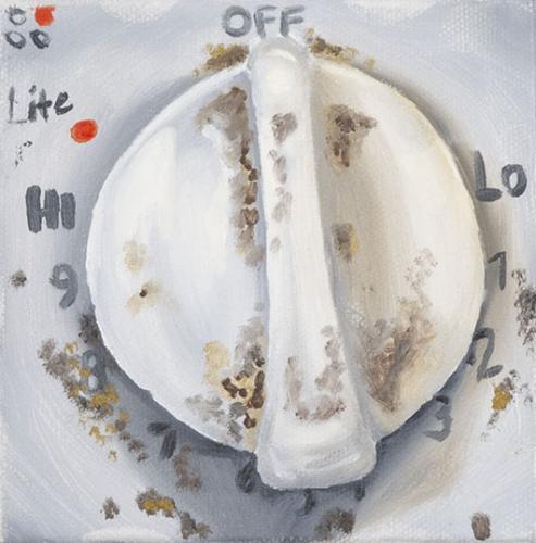 Oven Knob (Detail)